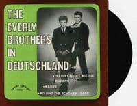 THE EVERLY BROTHERS In Deutschland Vol. 1 EP Vinyl Record 7 Inch German Sunset Springer